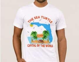 #317 для FLORIDA SEA TURTLE T- SHIRT DESIGN от sayful729