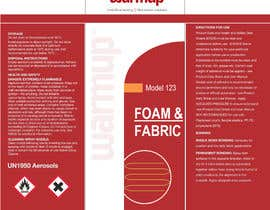 #7 para Design an attention grabbing label for aerosol por jay1007