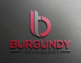 #278 pentru Burgundy Technology Logo Creation de către mazharulislam618