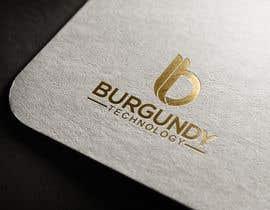 #280 pentru Burgundy Technology Logo Creation de către mazharulislam618