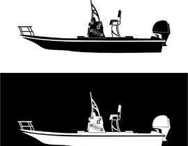 Nro 21 kilpailuun boat silhouette käyttäjältä fahidyounis