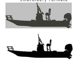 Nro 18 kilpailuun boat silhouette käyttäjältä ghufranahmed