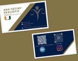 #76 for Ana Fotiny Business Cards af tayyabjaved914