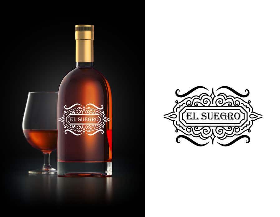 Kilpailutyö #                                        106                                      kilpailussa                                         Design logo + display on bottle