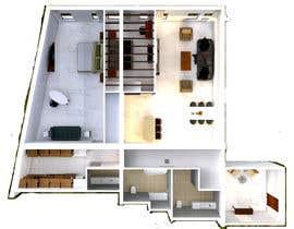 #65 for Interior Design / 3D visualization af ziadesigner7