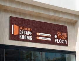 Nro 43 kilpailuun escape room signage käyttäjältä NaeemGFX01