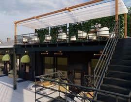 Nro 27 kilpailuun Exterior Rendering for Retail Building Improvements käyttäjältä MohammadRasheed9