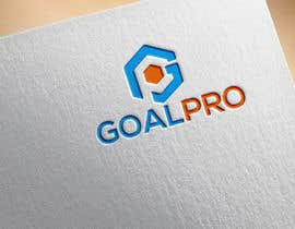 #346 for Create a new logo called GOALPRO af Rabeyak229