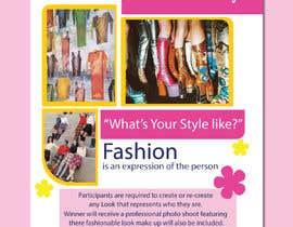 #35 for Fashion challenge flyer by designermastura