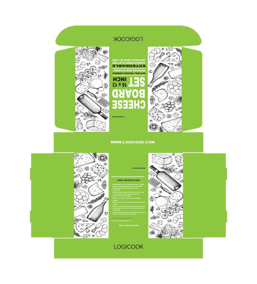 Kilpailutyö #                                        22                                      kilpailussa                                         Create Box Packaging for Kitchen Product