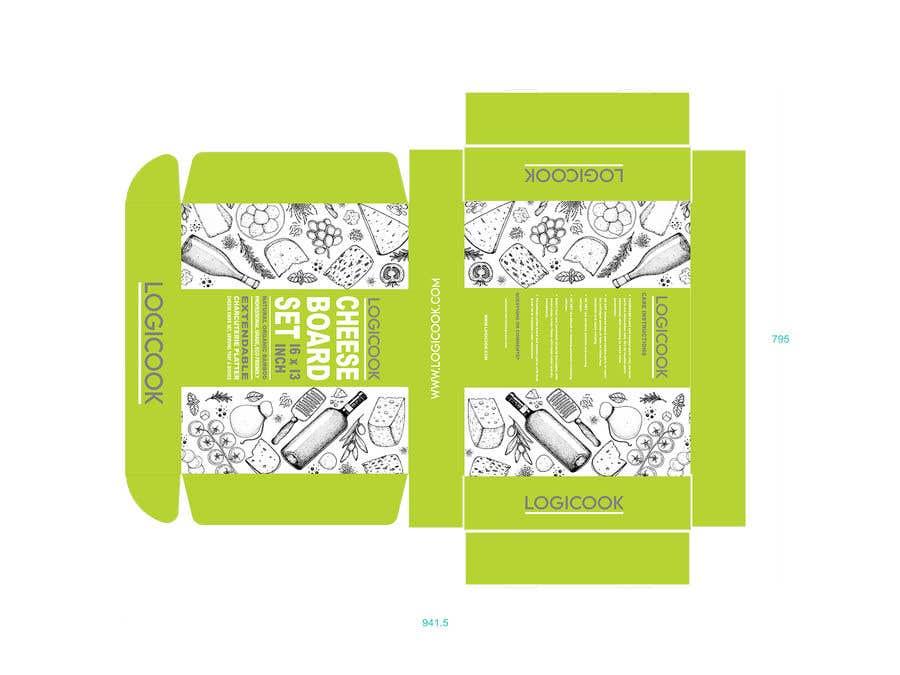 Kilpailutyö #                                        32                                      kilpailussa                                         Create Box Packaging for Kitchen Product