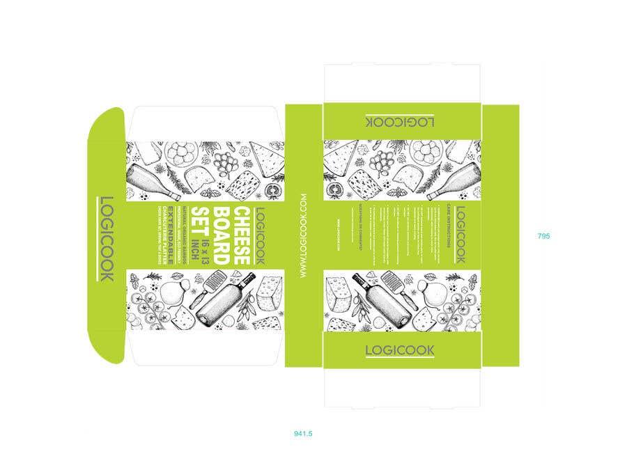 Kilpailutyö #                                        33                                      kilpailussa                                         Create Box Packaging for Kitchen Product