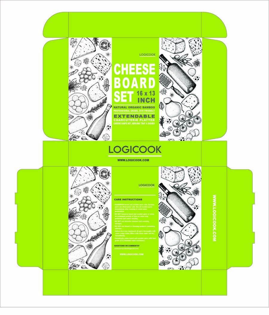 Kilpailutyö #                                        42                                      kilpailussa                                         Create Box Packaging for Kitchen Product
