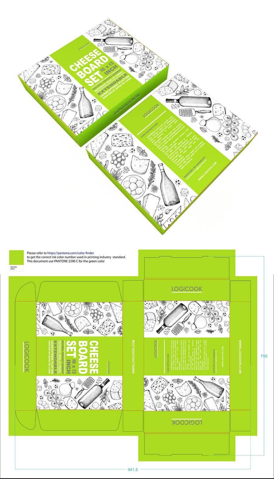 Kilpailutyö #                                        30                                      kilpailussa                                         Create Box Packaging for Kitchen Product