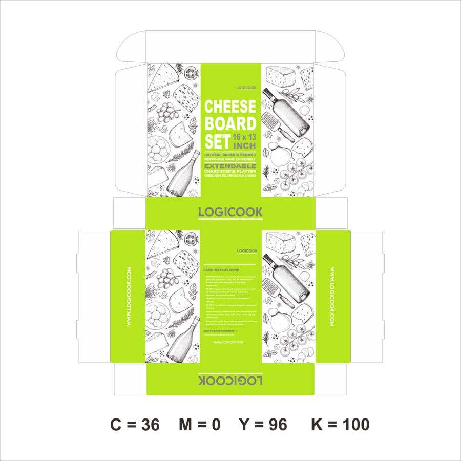 Kilpailutyö #                                        44                                      kilpailussa                                         Create Box Packaging for Kitchen Product