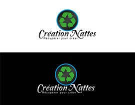 #4 para Logo Design for Creation Nattes por jonuelgs