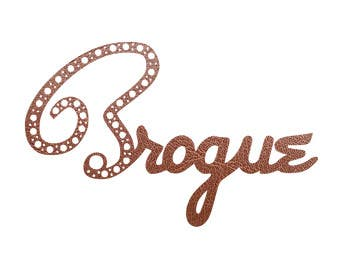 #77 for Design a Logo for a band 'brogues' af meresel