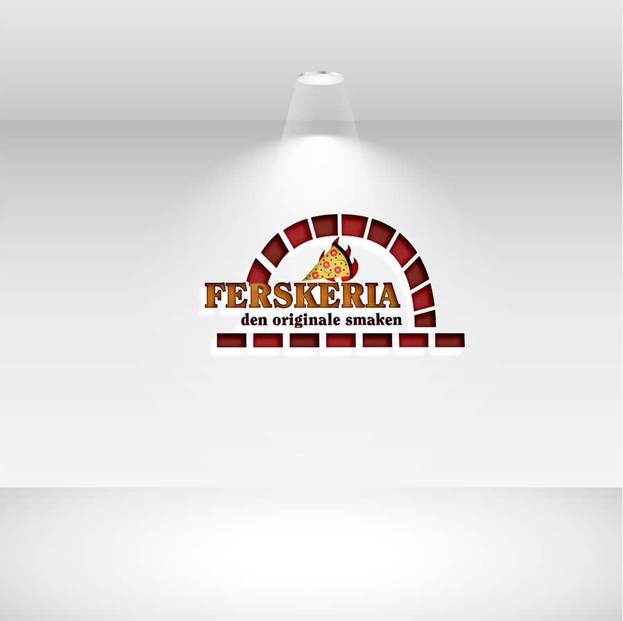 Penyertaan Peraduan #                                        8                                      untuk                                         Build a logo for a pizzeria under a food chain brand name.