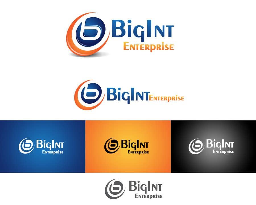 Inscrição nº                                         39                                      do Concurso para                                         Logo Design for BigInt Enterprises