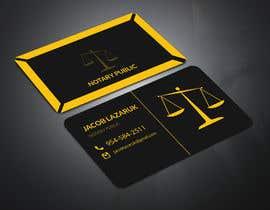 Nro 127 kilpailuun Business Card - Notary Public käyttäjältä academybright517