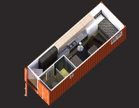 #20 for Shipping container conversion to site accommodation unit by offeradesign