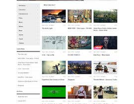 nº 3 pour design for video site par parikhan4i