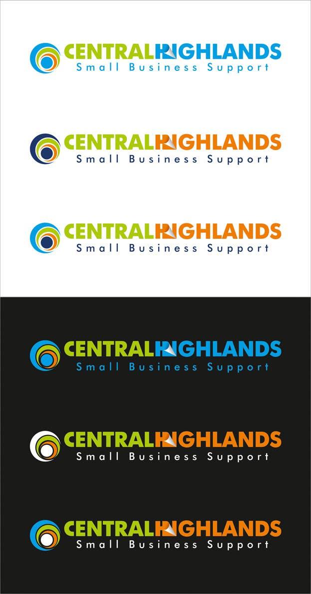 Kilpailutyö #                                        45                                      kilpailussa                                         Logo Design for Small Business Support