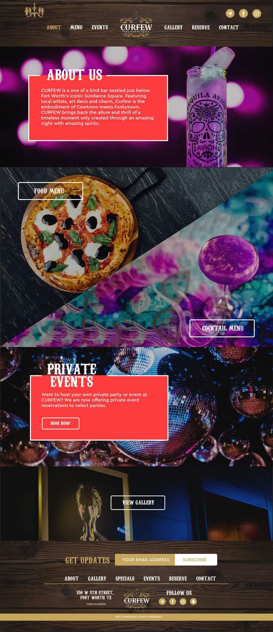 Contest Entry #                                        146                                      for                                         Design FUN Website for Speakeasy Concept