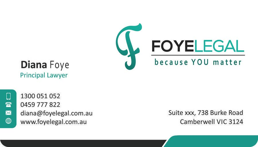 Contest Entry #                                        18                                      for                                         Re-design a Logo/Brand and Stationery for Legal Business