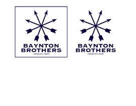#6 for Design a Logo for BAYNTON BROTHERS by littlenaka