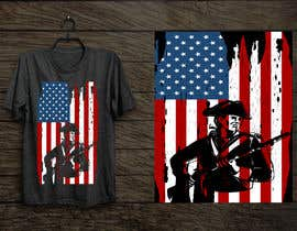 #99 for Distressed US Flag Patriot T-Shirt Design - 27/01/2021 02:53 EST by Aminul160636