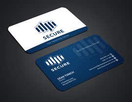 #425 for Cloud Secure Needs business card by toahaamin