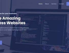 #28 for design an unfinished website in a elegant way, but try to keep it close to original by webbswag