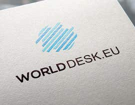 #24 para Design a Logo for the future system Worlddesk.eu in 3d look por SkyNet3