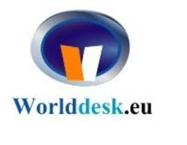 #15 para Design a Logo for the future system Worlddesk.eu in 3d look por JAHIRULI6116