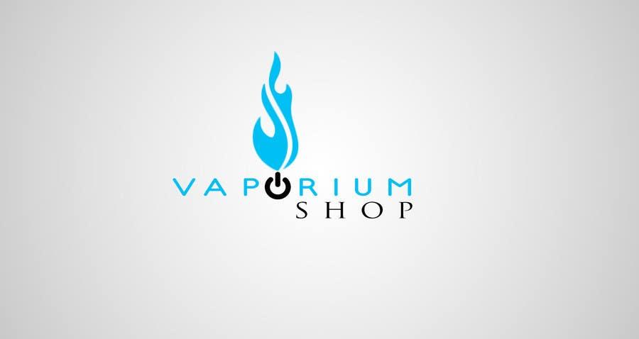 Contest Entry #                                        33                                      for                                         Design a Logo for vaporiumshop.com