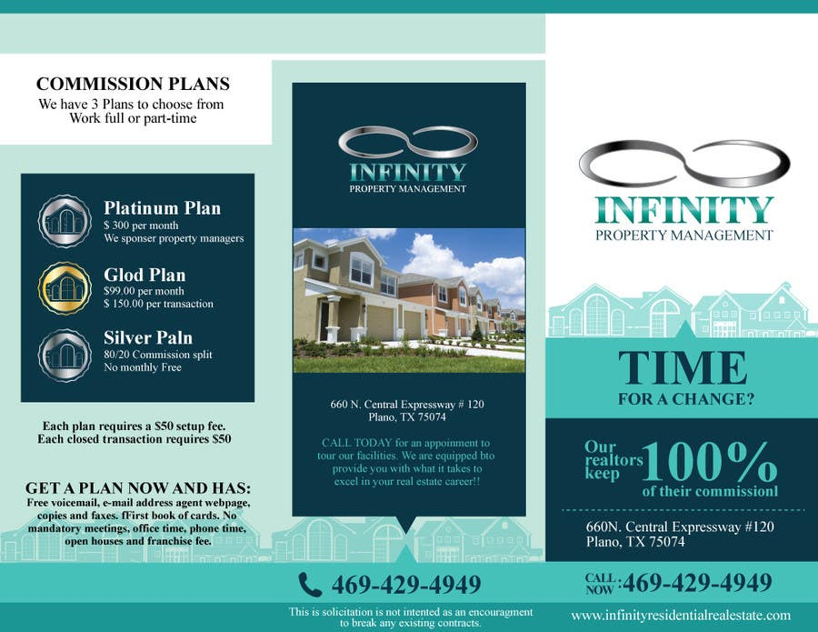 Contest Entry #                                        12                                      for                                         Design a Brochure for real estate agent marketing