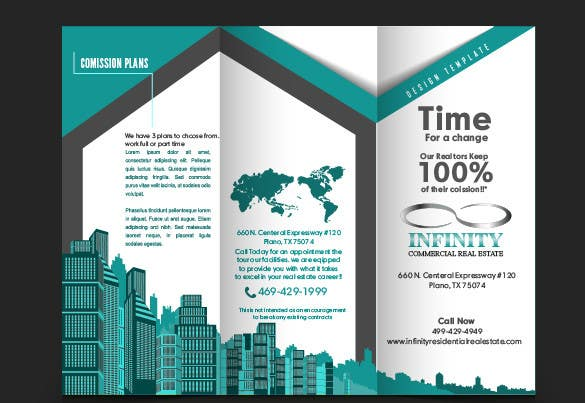 Contest Entry #                                        10                                      for                                         Design a Brochure for real estate agent marketing