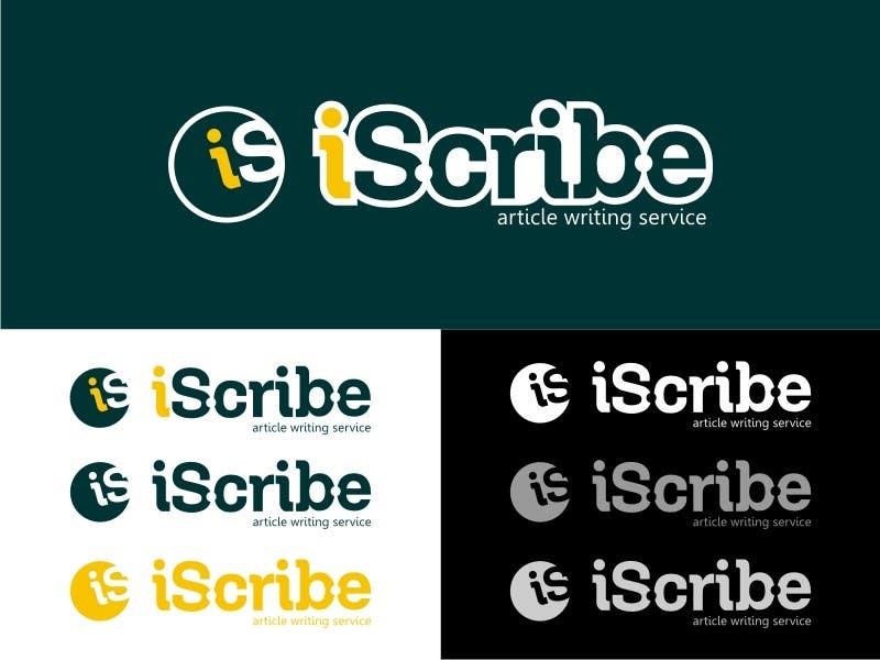 Kilpailutyö #                                        46                                      kilpailussa                                         Logo Design for iScribe