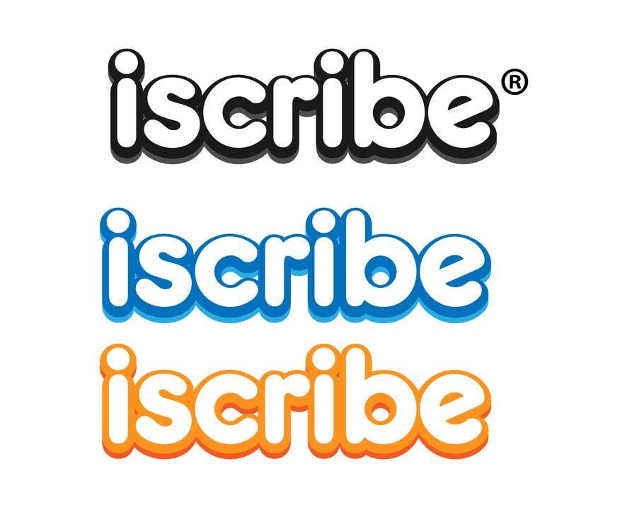 Kilpailutyö #                                        38                                      kilpailussa                                         Logo Design for iScribe