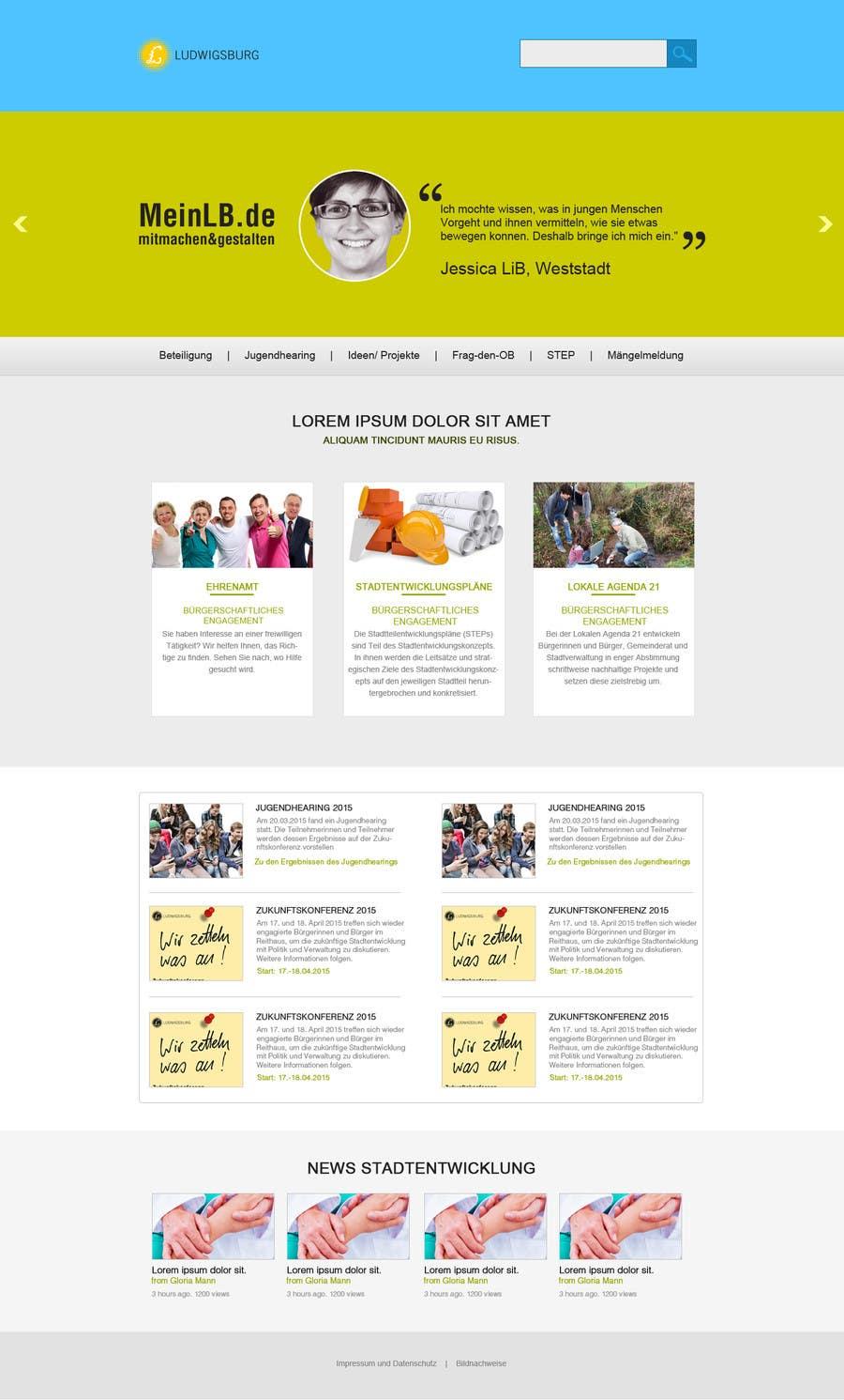 Penyertaan Peraduan #7 untuk Re-Design landingpage of a productive wordpress website