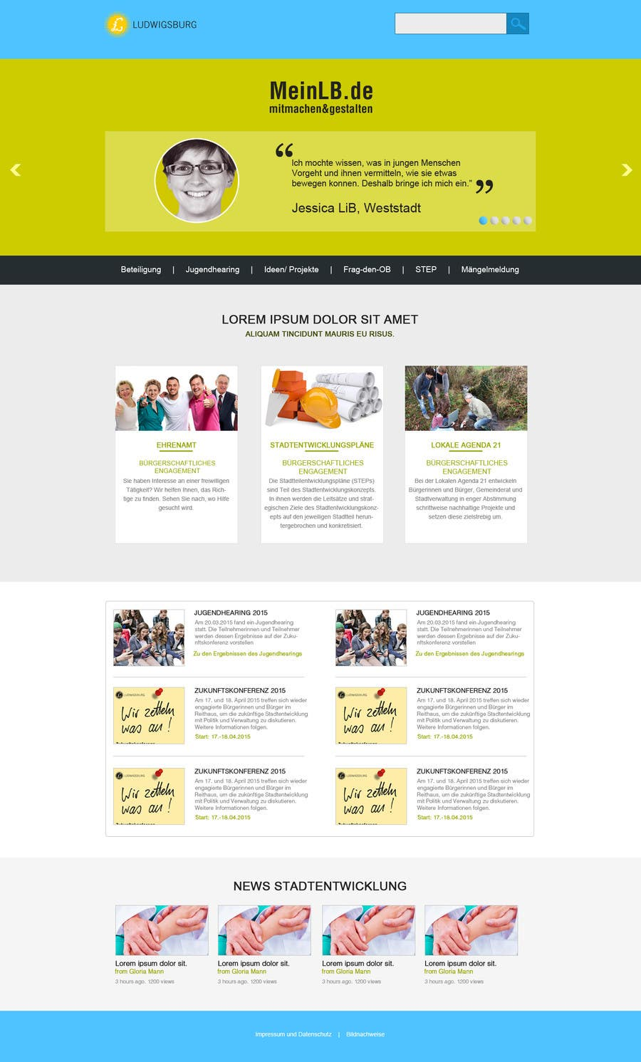 Penyertaan Peraduan #8 untuk Re-Design landingpage of a productive wordpress website