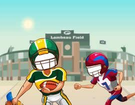 #14 cho Face-in-hole board design (American football scene) bởi JoyjeetPanday