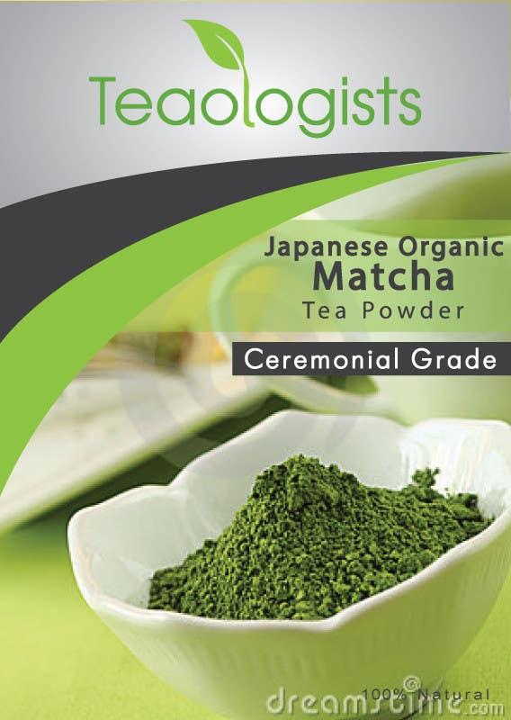 Penyertaan Peraduan #33 untuk Create Packaging Design for Matcha Tea Product