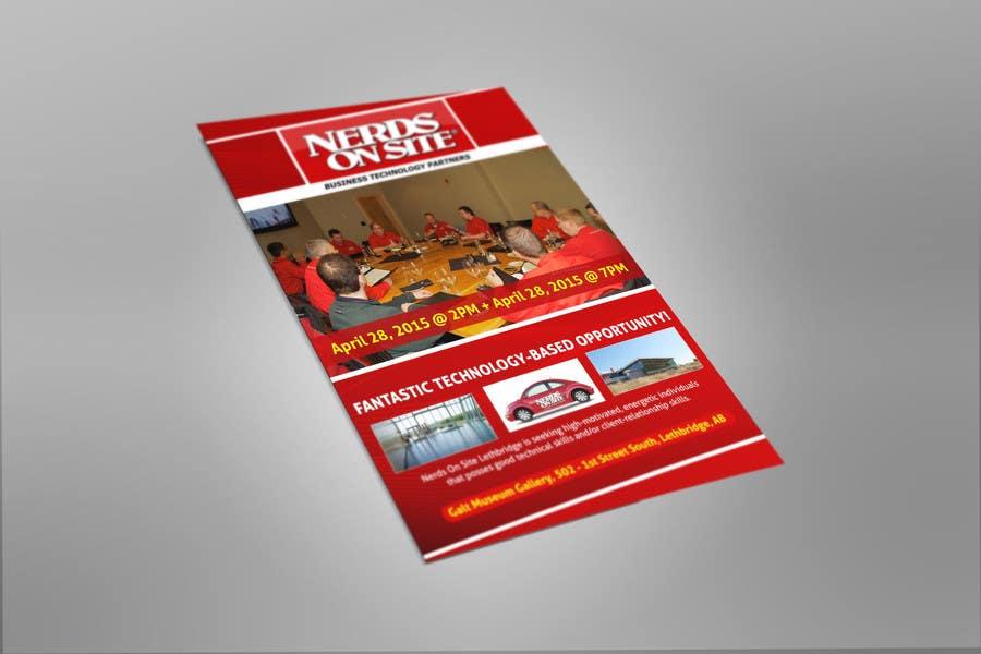 Penyertaan Peraduan #13 untuk Design a Flyer for a Job Fair