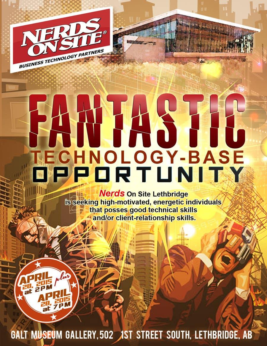 Konkurrenceindlæg #                                        10                                      for                                         Design a Flyer for a Job Fair