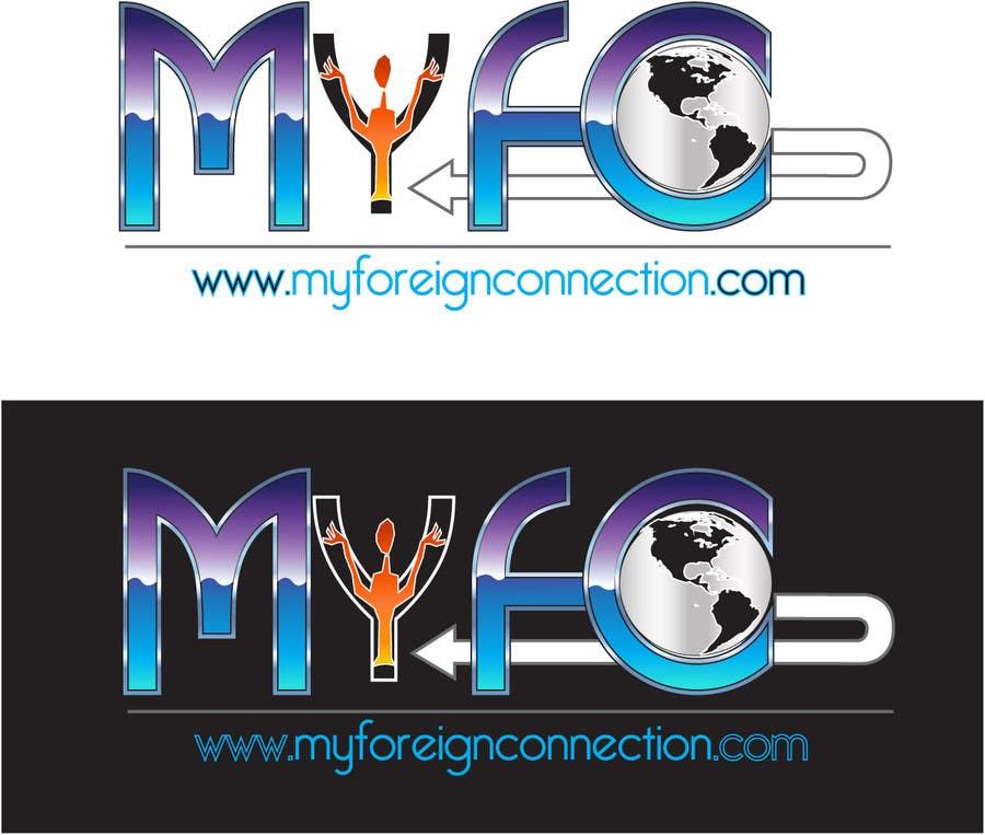 Inscrição nº 126 do Concurso para Logo Design for My Foreign Connection (MyFC)