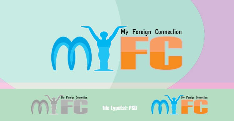 Inscrição nº 101 do Concurso para Logo Design for My Foreign Connection (MyFC)