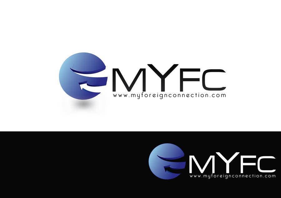 Inscrição nº 74 do Concurso para Logo Design for My Foreign Connection (MyFC)