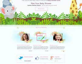 #12 for Design a Website Mockup for planyourbabyshower.com by nilsoft123